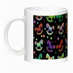Toys pattern Night Luminous Mugs
