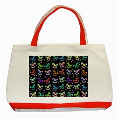 Toys pattern Classic Tote Bag (Red)