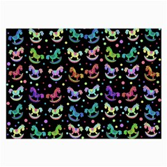 Toys pattern Large Glasses Cloth (2-Side)