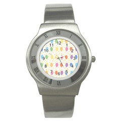 Balloon Star Rainbow Stainless Steel Watch