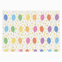 Balloon Star Rainbow Large Glasses Cloth