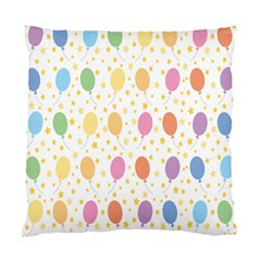 Balloon Star Rainbow Standard Cushion Case (two Sides)