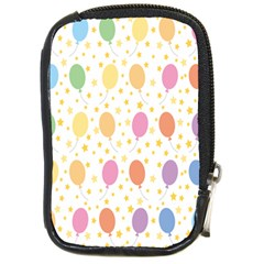Balloon Star Rainbow Compact Camera Cases