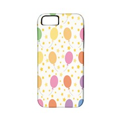 Balloon Star Rainbow Apple Iphone 5 Classic Hardshell Case (pc+silicone)