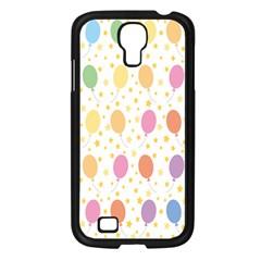 Balloon Star Rainbow Samsung Galaxy S4 I9500/ I9505 Case (black)