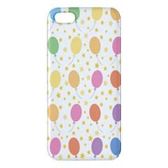 Balloon Star Rainbow Iphone 5s/ Se Premium Hardshell Case