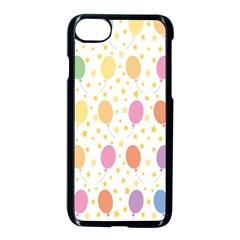 Balloon Star Rainbow Apple Iphone 7 Seamless Case (black)