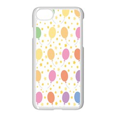 Balloon Star Rainbow Apple Iphone 7 Seamless Case (white)