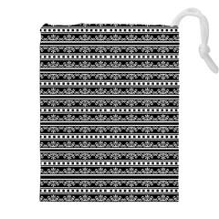 Pattern Drawstring Pouches (XXL)