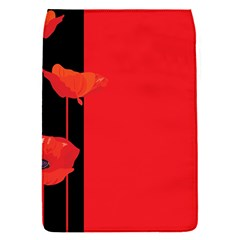 Flower Floral Red Back Sakura Flap Covers (s)