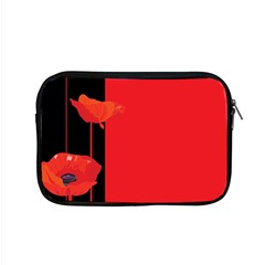 Flower Floral Red Back Sakura Apple Macbook Pro 15  Zipper Case