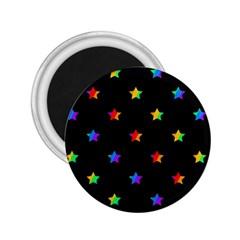 Stars pattern 2.25  Magnets