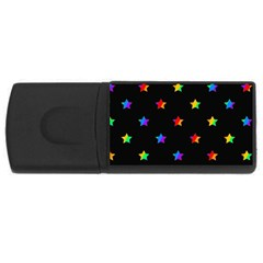 Stars pattern USB Flash Drive Rectangular (2 GB)