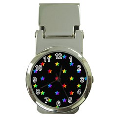 Stars pattern Money Clip Watches