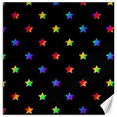 Stars Pattern Canvas 12  X 12