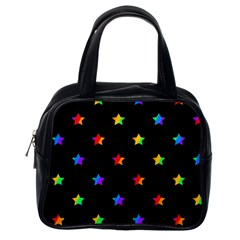 Stars pattern Classic Handbags (One Side)
