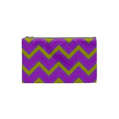 Zig zags pattern Cosmetic Bag (Small)