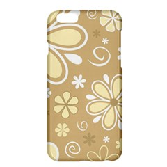 Flower Floral Star Sunflower Grey Apple Iphone 6 Plus/6s Plus Hardshell Case