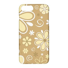 Flower Floral Star Sunflower Grey Apple Iphone 7 Plus Hardshell Case