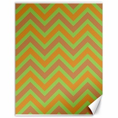 Zig zags pattern Canvas 18  x 24
