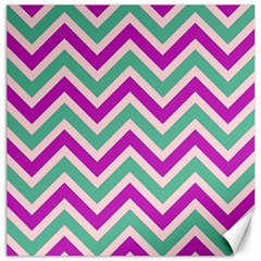 Zig zags pattern Canvas 12  x 12