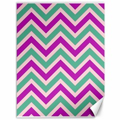 Zig zags pattern Canvas 36  x 48