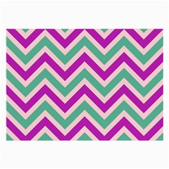 Zig zags pattern Large Glasses Cloth