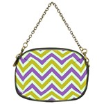 Zig zags pattern Chain Purses (Two Sides)  Back
