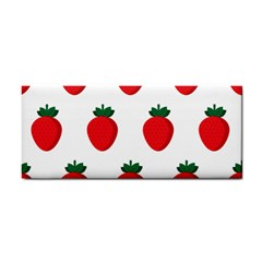 Fruit Strawberries Red Green Cosmetic Storage Cases