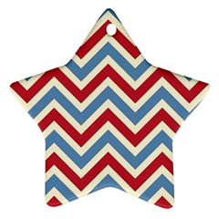 Zig zags pattern Ornament (Star)