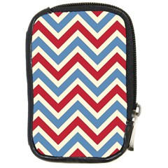 Zig zags pattern Compact Camera Cases