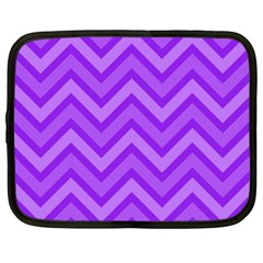 Zig zags pattern Netbook Case (XL)
