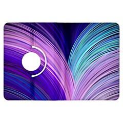 Color Purple Blue Pink Kindle Fire Hdx Flip 360 Case