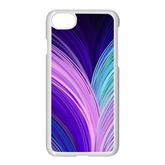 Color Purple Blue Pink Apple Iphone 7 Seamless Case (white)