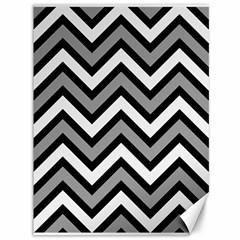 Zig zags pattern Canvas 36  x 48