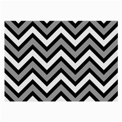 Zig zags pattern Large Glasses Cloth (2-Side)