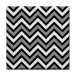 Zig zags pattern Face Towel