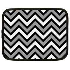 Zig zags pattern Netbook Case (XXL)