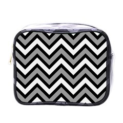 Zig zags pattern Mini Toiletries Bags