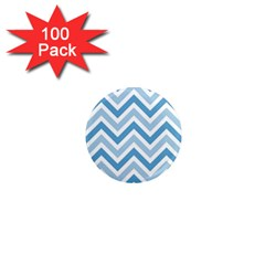Zig zags pattern 1  Mini Magnets (100 pack)