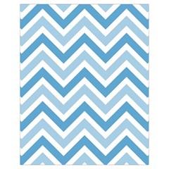 Zig zags pattern Drawstring Bag (Small)