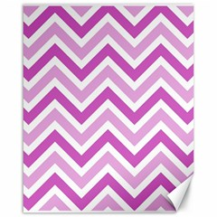 Zig zags pattern Canvas 16  x 20