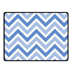 Zig zags pattern Fleece Blanket (Small)