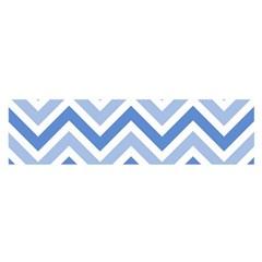 Zig zags pattern Satin Scarf (Oblong)
