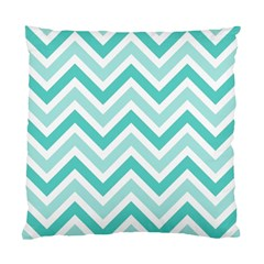 Zig zags pattern Standard Cushion Case (Two Sides)