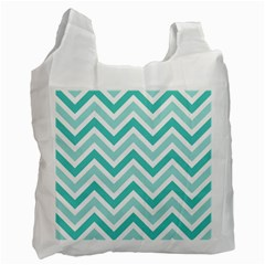 Zig zags pattern Recycle Bag (Two Side)