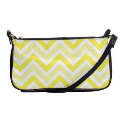 Zig zags pattern Shoulder Clutch Bags