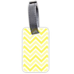 Zig zags pattern Luggage Tags (One Side)