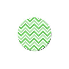 Zig zags pattern Golf Ball Marker