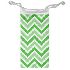 Zig zags pattern Jewelry Bag